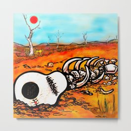 Dead heart of rock and roll Metal Print