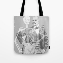 Crown Pursuit -- Black and White Variant Tote Bag