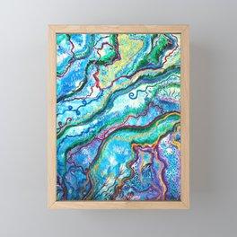 fee blüte Framed Mini Art Print