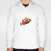 blur Hoodies featuring Blur Fish by foureighteen