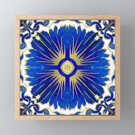 Azulejos - Portuguese Tiles Framed Mini Art Print