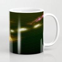 pac man Mugs featuring Pac Man by Zirothar