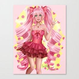 Cute & Pink Canvas Print