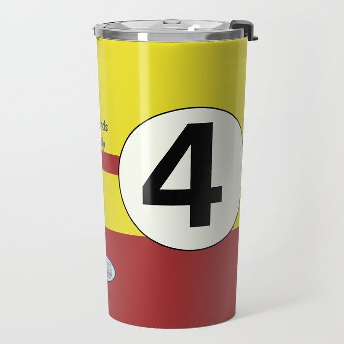 SRC Preparations. Racecar Rebels. 4 Travel Mug