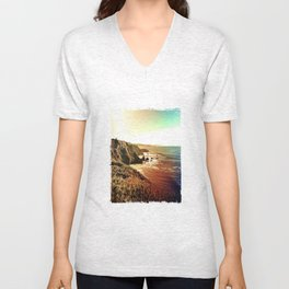 Looking South Unisex V-Neck
