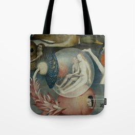 Lovers in a bubble - Hieronymus Bosch Tote Bag