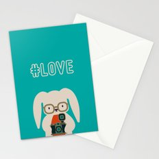 Hipster #LOVE Stationery Cards