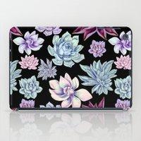 succulents iPad Cases featuring Succulents by Miranda Montes