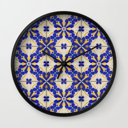 Tiles - VIII Wall Clock