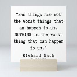 22   | Richard Bach Quotes | 190916 Mini Art Print
