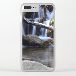 Small waterfall away from Cascade Falls Clear iPhone Case