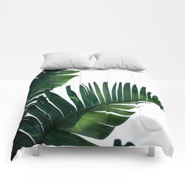 Palm Leaf Comforters For Any Bedroom Decor Style Society6