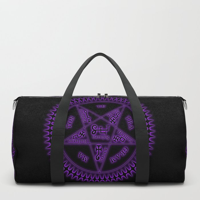 Sebastian Michaelis Sigil Dark (black bg) Duffle Bag