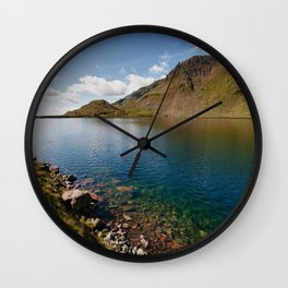 Levers Water Wall Clock