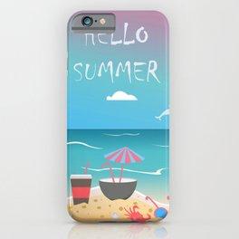 Summer Pattern iPhone Case