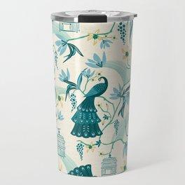 Aviary - Cream Travel Mug