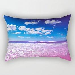 Cobalt Beach Rectangular Pillow