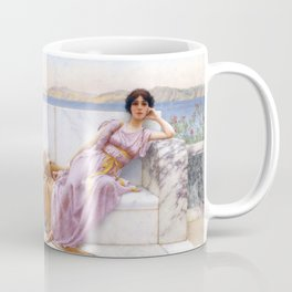 "John William Godward ""Eighty and eighteen"" Coffee Mug"