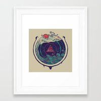 water Framed Art Prints featuring Water by Hector Mansilla