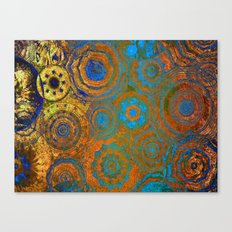 Mysterious Circles 2 Canvas Print