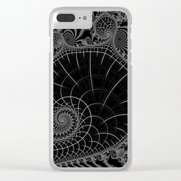 Peaks Inverted Clear iPhone Case