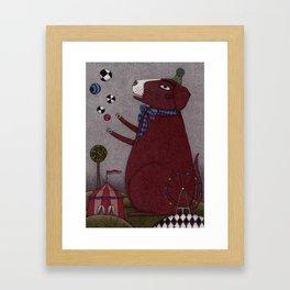It's a Dog! Framed Art Print