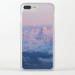 Perfect sunrise in South Tyrol - Landscape and Nature Photography Clear iPhone Case