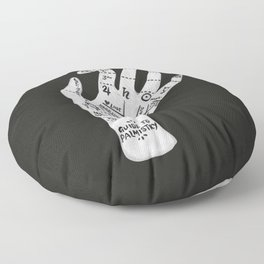 Palm Reading Floor Pillow
