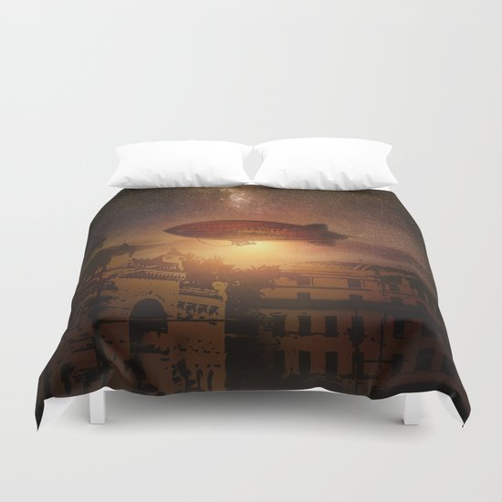 A Trip down the Sunset II Duvet Cover