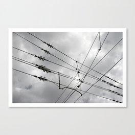 Above the train. Canvas Print