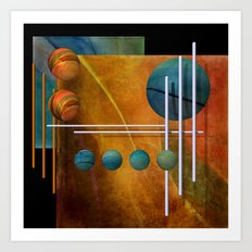 geometric decoration -2- Art Print