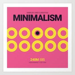 MINIMALISM #10 Art Print