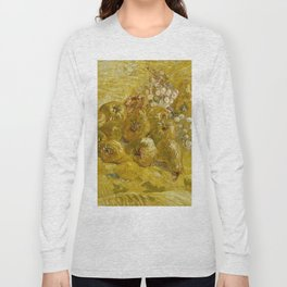 Quinces, Lemons, Pears and Grapes by Vincent van Gogh Long Sleeve T-shirt