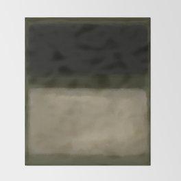 Rothko Inspired #5 Throw Blanket