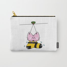 Soaking Kitty Carry-All Pouch