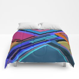 Abstract Composition 611 Comforters
