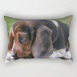 Beagle Cuteness Rectangular Pillow