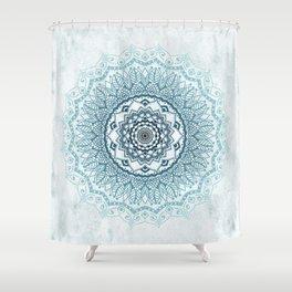 Frankfurter Mandala Shower Curtain
