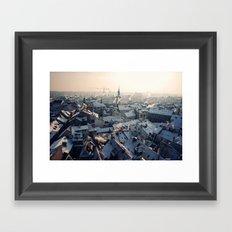 Old Town Sunrise, Prague Framed Art Print