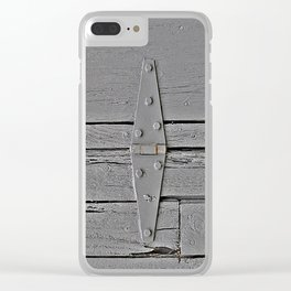 The Cover Up Clear iPhone Case