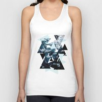 posters Tank Tops featuring c - Sea Waves Posters by emme