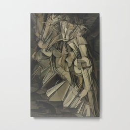 Marcel Duchamp - Nude Descending a Staircase, No. 2 Metal Print