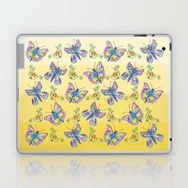 Butterflies and Flowers Laptop & iPad Skin