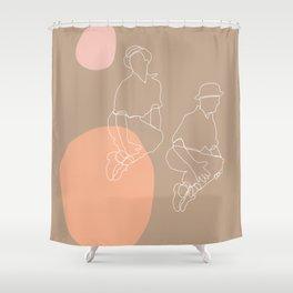 Jumping Jacks ll Shower Curtain