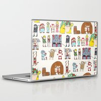 nintendo Laptop & iPad Skins featuring Nintendo Characters by Hamburger Hands