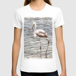 Find Your Footing And Stand Firm Watercolor T-shirt