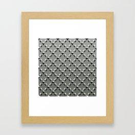 Mod Gray Framed Art Print