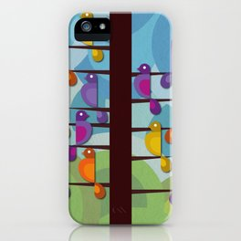 Of a feather iPhone Case