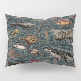 Sea & Ocean Life Maritime Pattern Pillow Sham