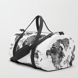 world map color splatter 4 Duffle Bag